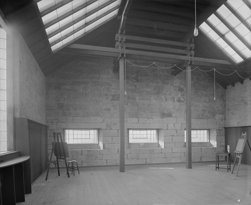 Glasgow School of Art, interior View of Composition Room