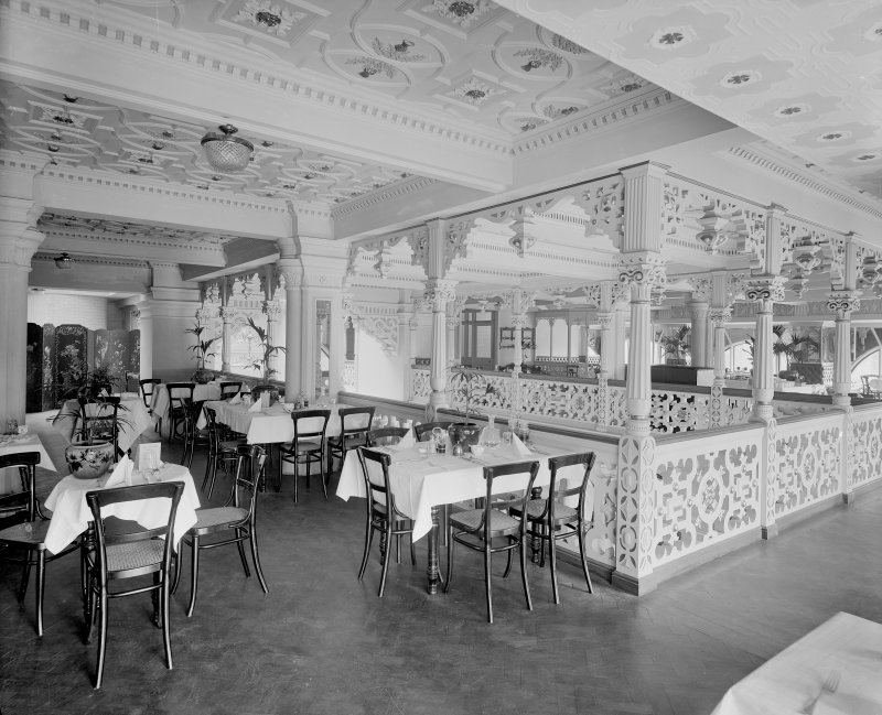 The original tea room in Jenners Department Store in Edinburgh.