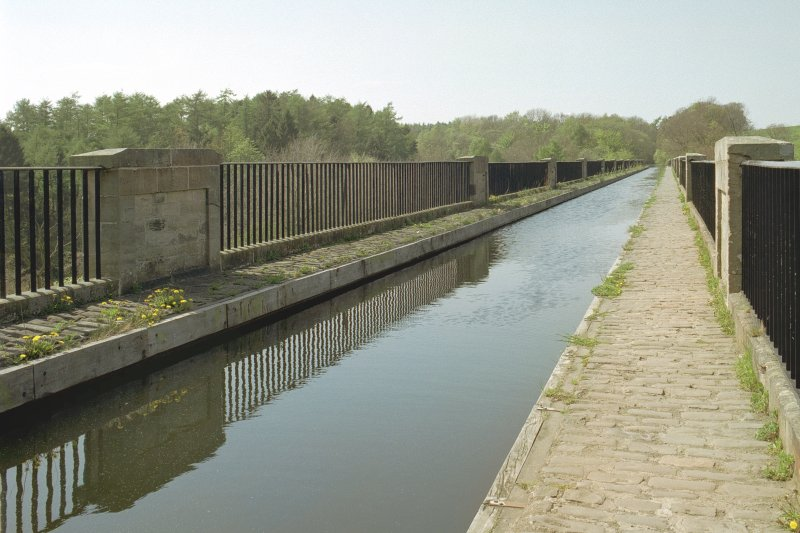 View of aqueduct channel from SE.