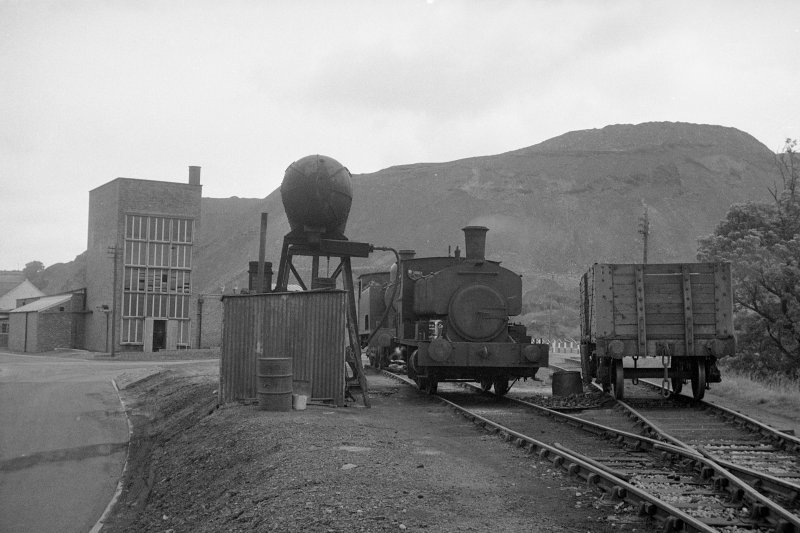 View from SW showing 'locomotive depot'