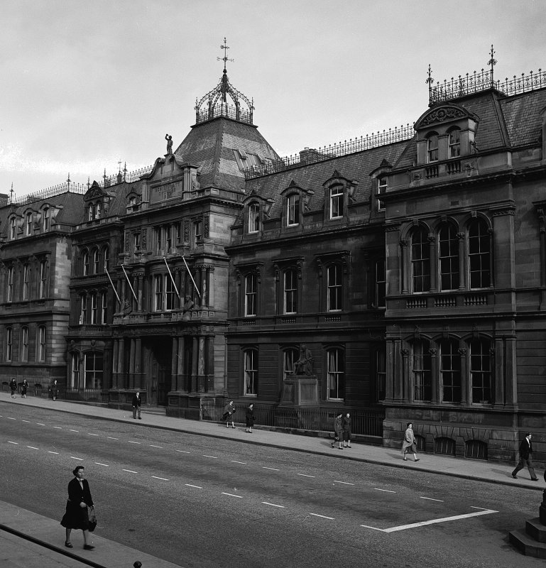 View of Heriot Watt College, Chambers Street, Edinburgh.