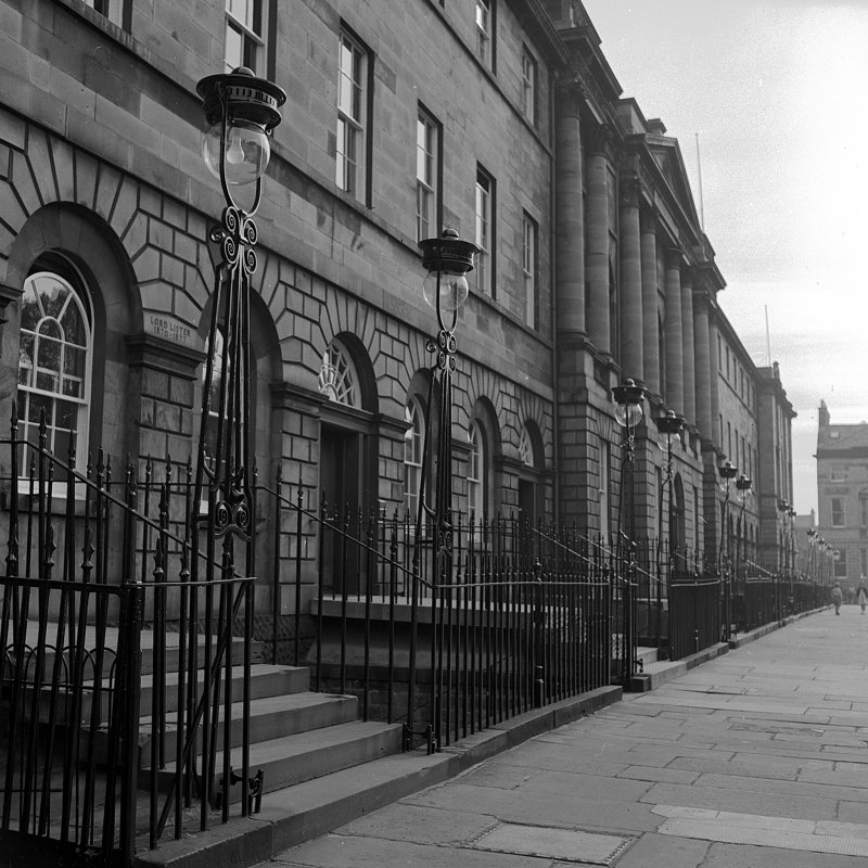 General view of North side of Charlotte Square, including Bute House