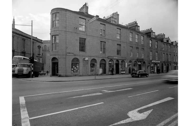 Aberdeen, 67-77 King Street. General view from East.
