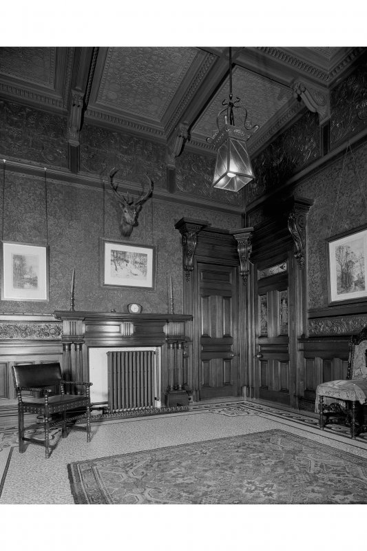 Interior. General view of entrance hall.