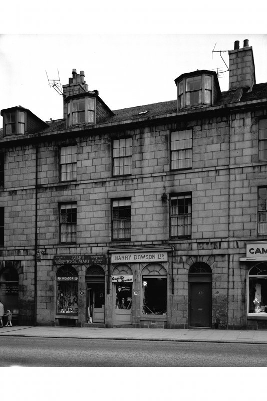 Aberdeen, 36-40 King Street. View from East.