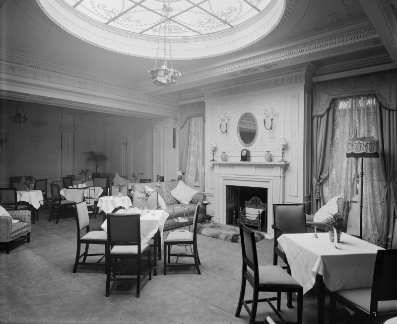 Edinburgh, Picture Theatre, interior. View of dining area.