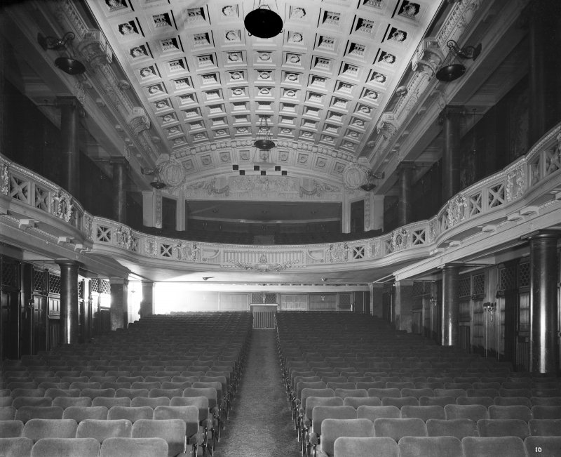 Edinburgh, Picture Theatre, interior. View of auditorium from stage.
