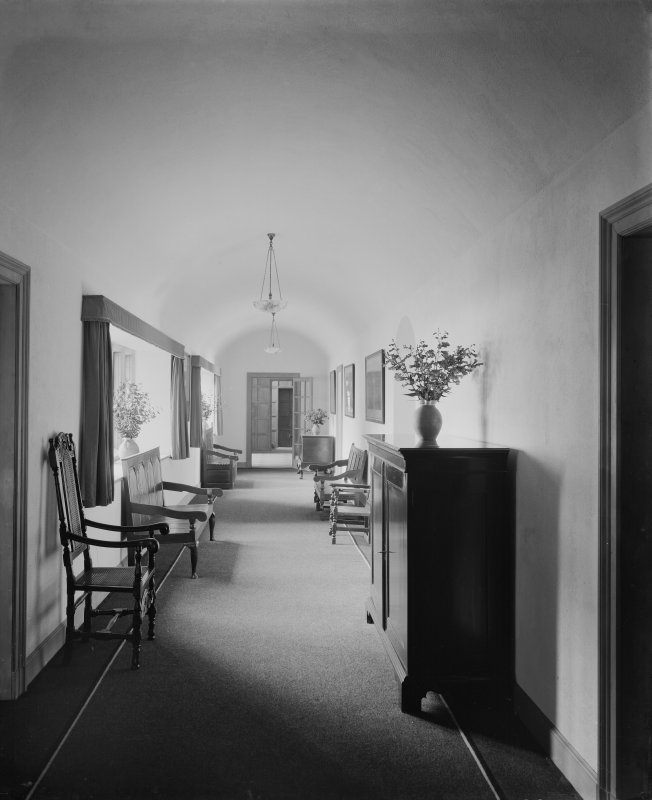 Interior - view of corridor