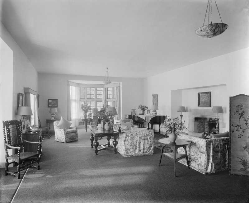 Interior -  view of Drawing Room