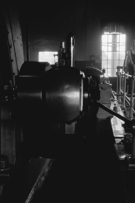Interior View showing big end of steam winding engine
