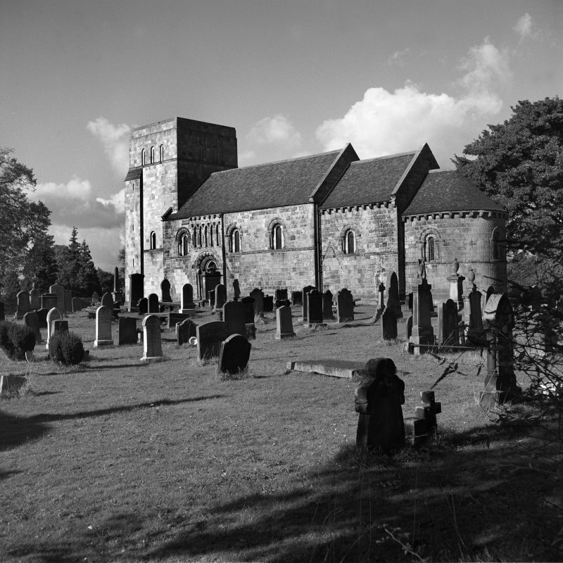 View of Dalmeny Church from South East
