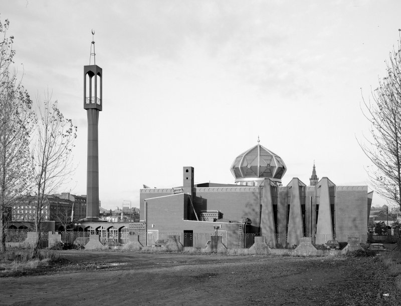 Glasgow, Mosque Avenue, Islamic Centre. General view from South-East.
