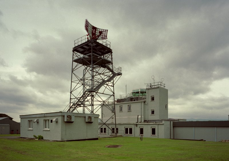 Control tower, view from North West