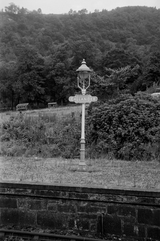 View from SSW showing lamp standard