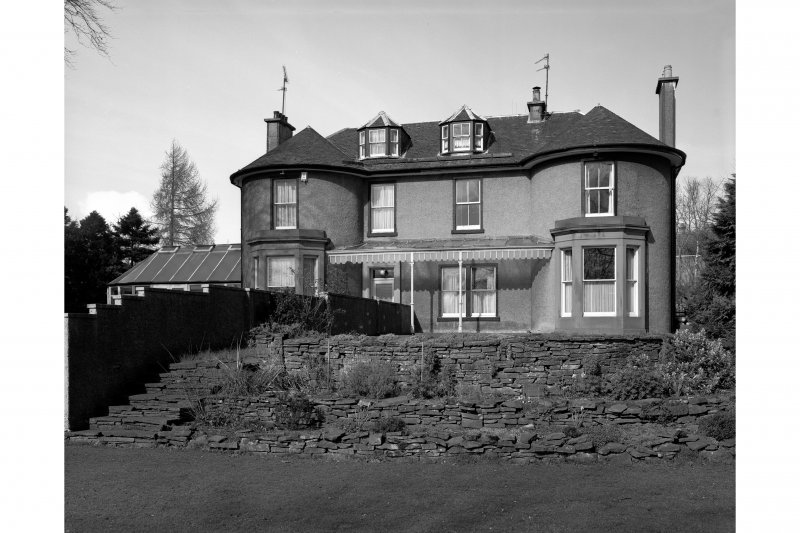 Dundee, Barns of Claverhouse Road, Claverhouse Bleachworks, Manager's House. General view of manager's house from South.