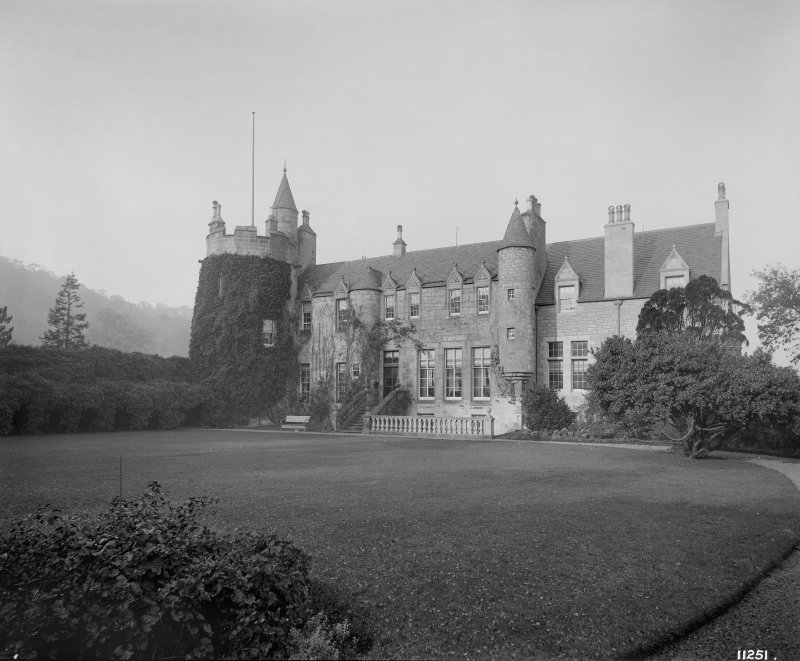 General view of Castle from Walled Garden
