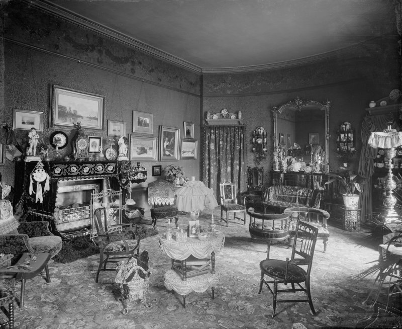 Interior-general view of Sitting Room