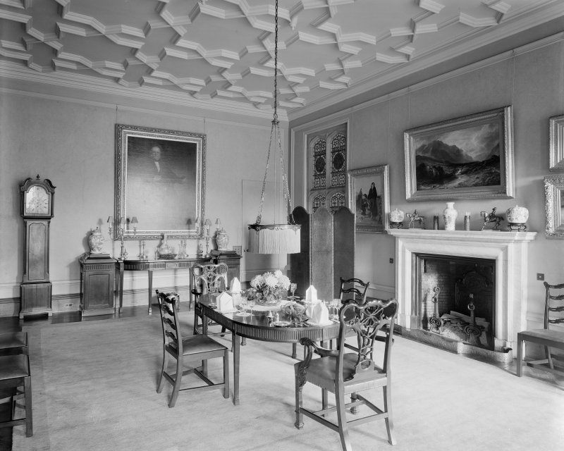 Interior-general view of Dining Room