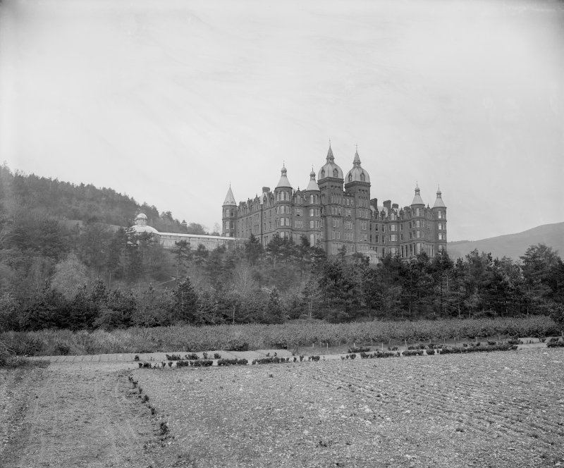 General view of Peebles Hydro from gardens Digital image of B 64254