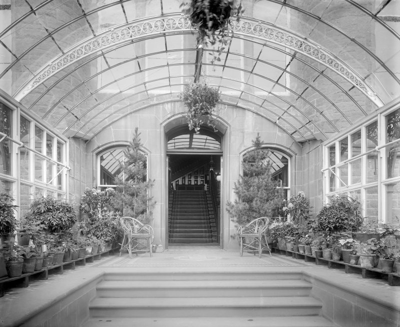Interior-general view of conservatory