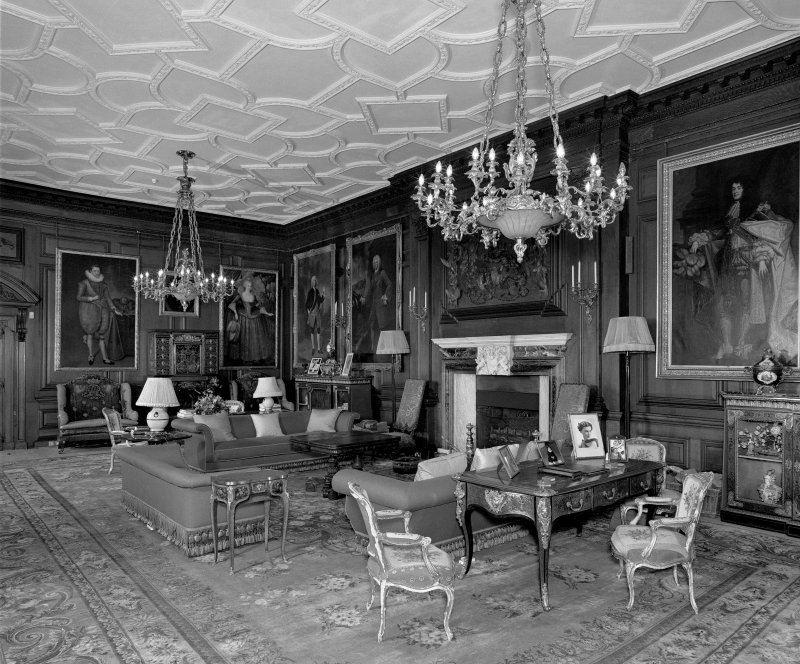 Interior, 1st. floor, drawing-room, view from south east