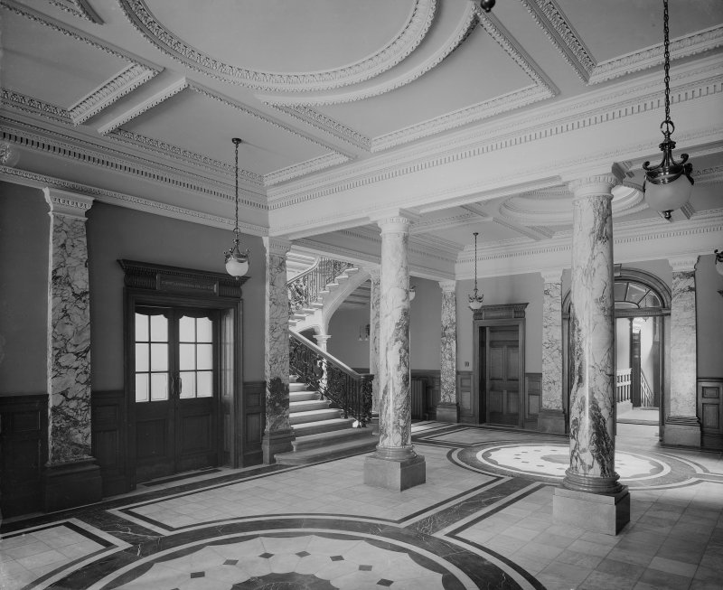 Interior-general view of entrance foyer