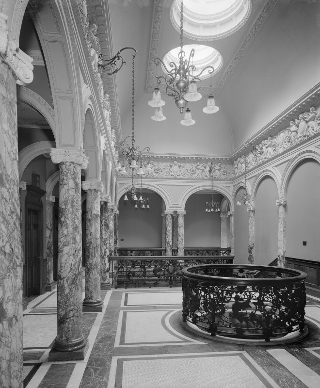 Interior-general view of landing and staircase