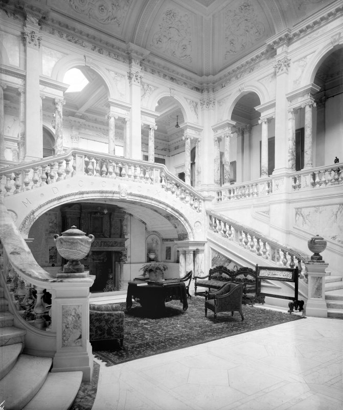 Interior-general view of Marble Hall