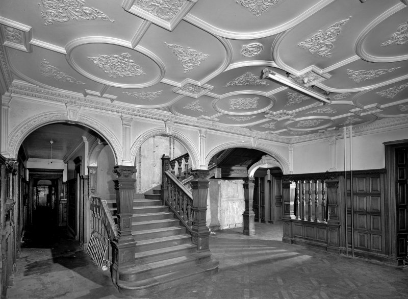 Interior. View of staircase hall. Digital image of RE/1318