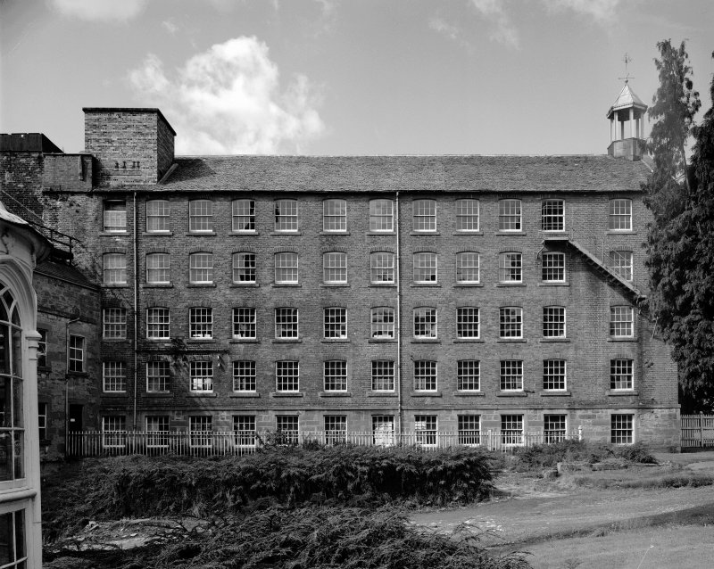 View of East side of Bell Mill.