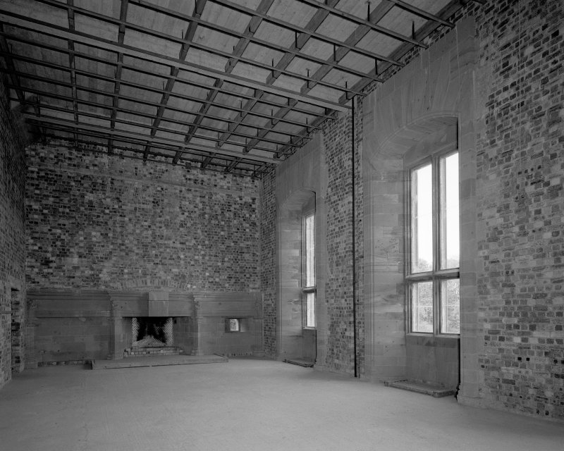 Interior. View of main hall from W. Digital image of C 38772