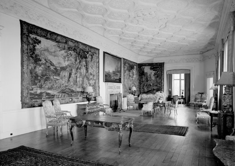 Interior-general view of drawing room by Lorimer