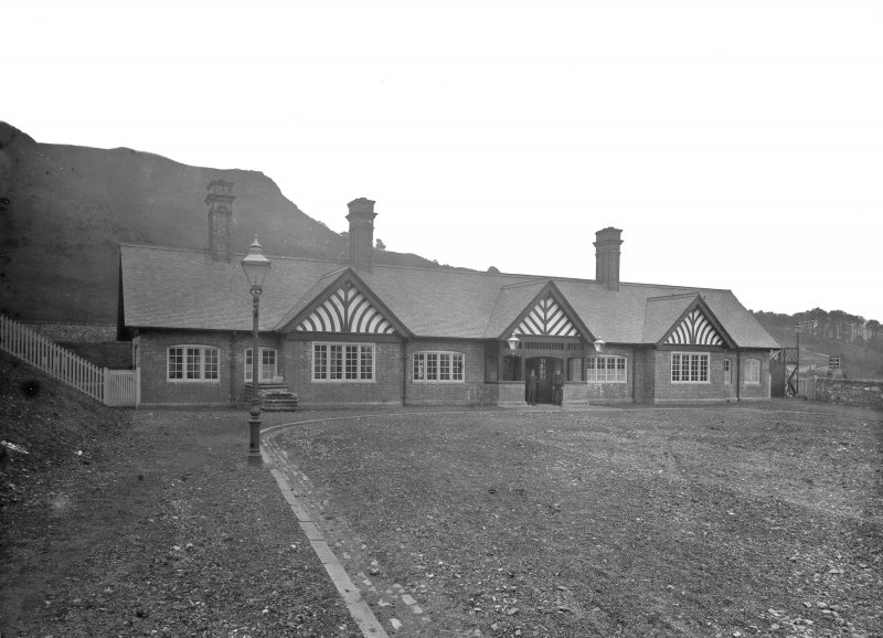General view of Fort Matilda Station building