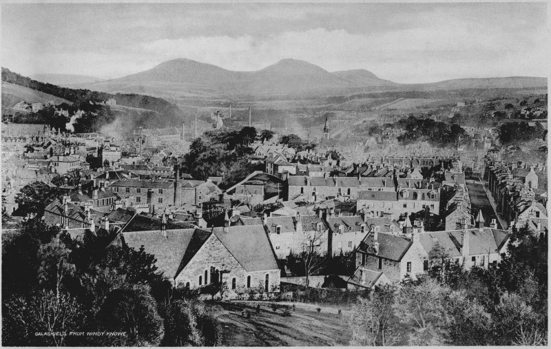Copy of historic photograph showing general view. Digital image of SE 394