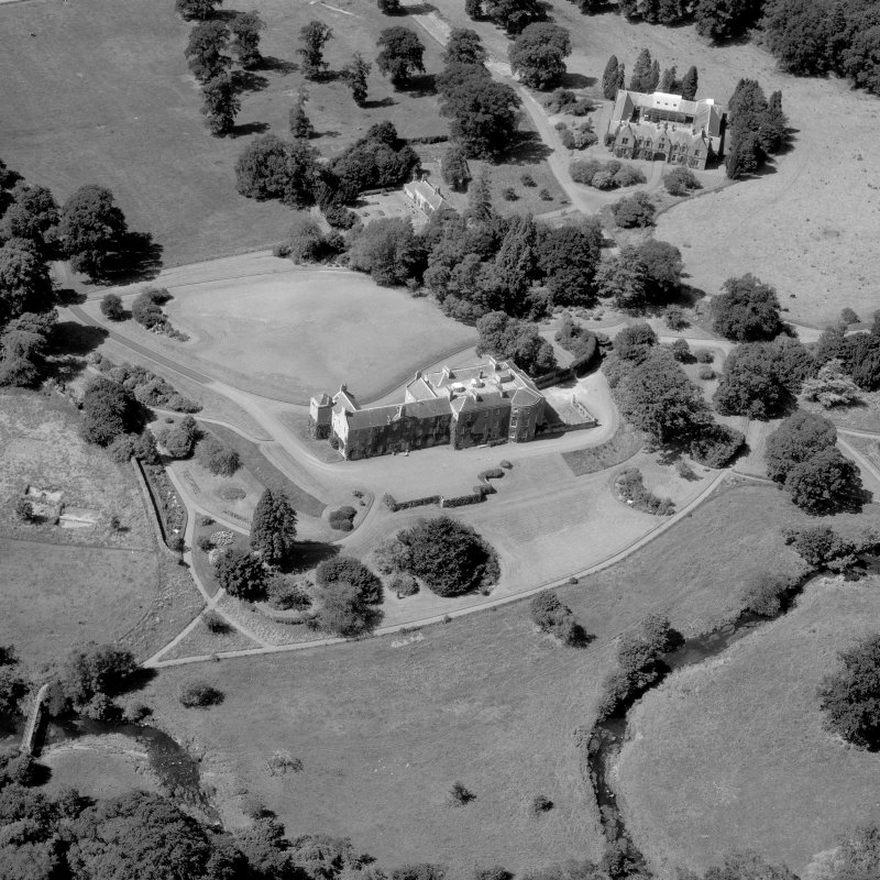 Oblique aerial view. Digital image of BW 3028