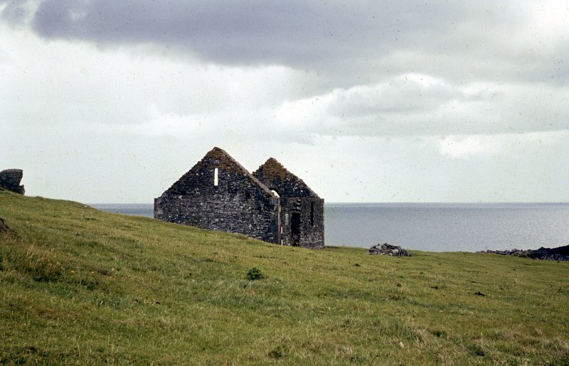 Colour slide, view of Saint Ninian's Kirk Isle of Whithorn NMRS Survey of Private Collection Digital Image Only