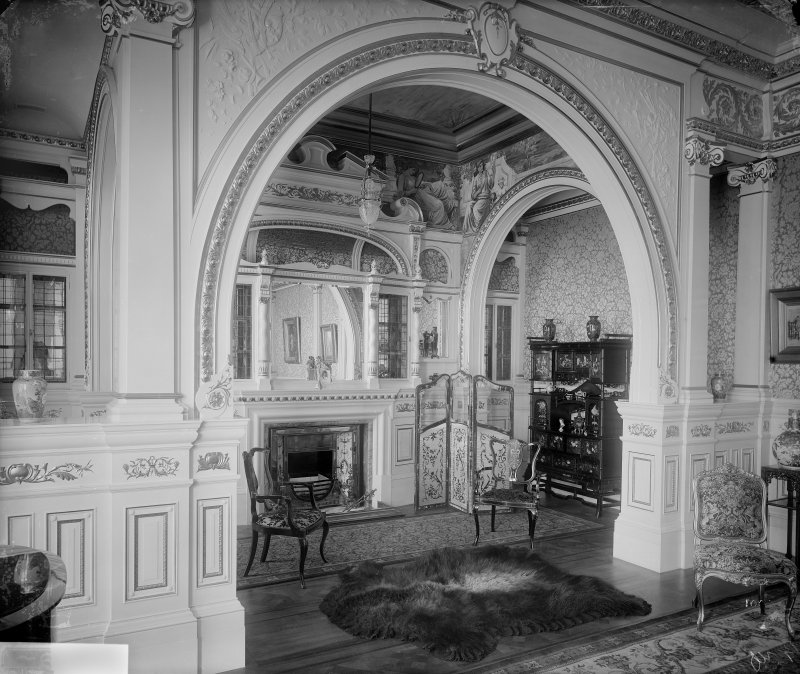 Interior-general view of archway into small sitting room