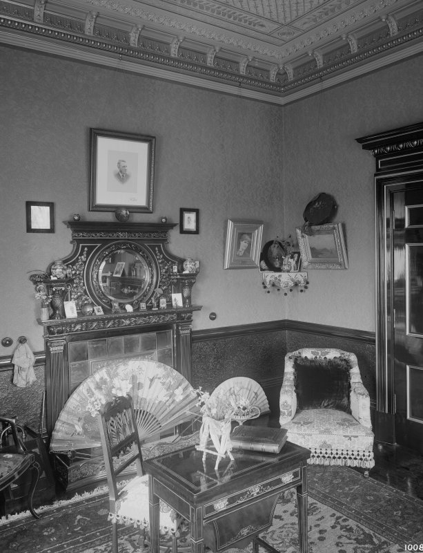 Interior-general view of small Sitting Room