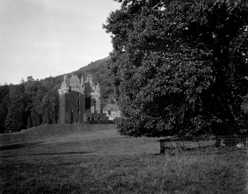 Castle Leod. View of North elevation.