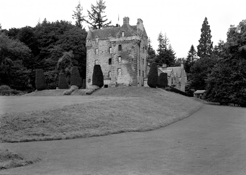 Castle Leod. View of North-East elevation