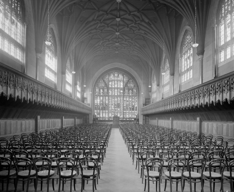 Interior - view of chapel/assembly hall