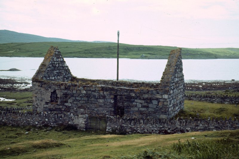 Colour slide showing general view of  Keills Church north Knapdale,  NMRS Survey of Private Collection Digital Image only