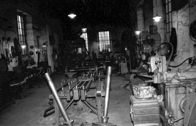 Interior View of NCB workshops