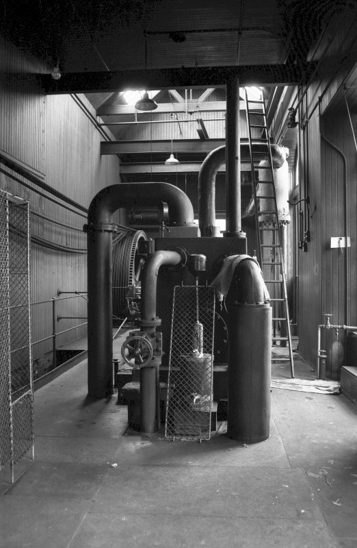 Interior View showing condenser of Douglas and Grant Tandem Compound Engine