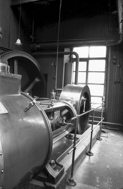 Interior View showing part of Douglas and Grant Tandem Compound Engine