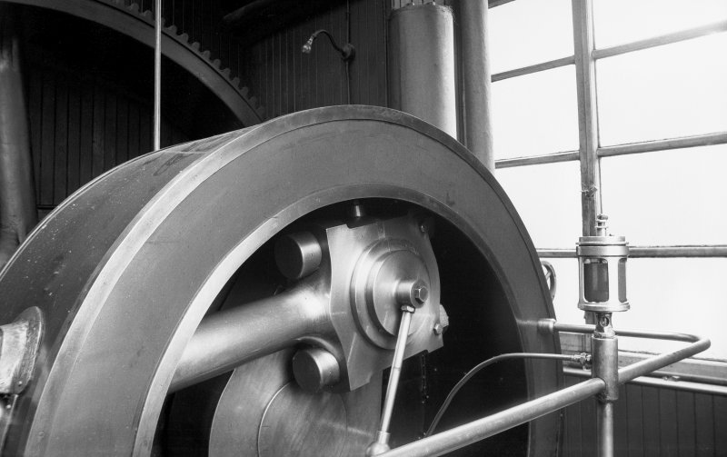 Interior View showing crank shaft end of Douglas and Grant Tandem Compound Engine