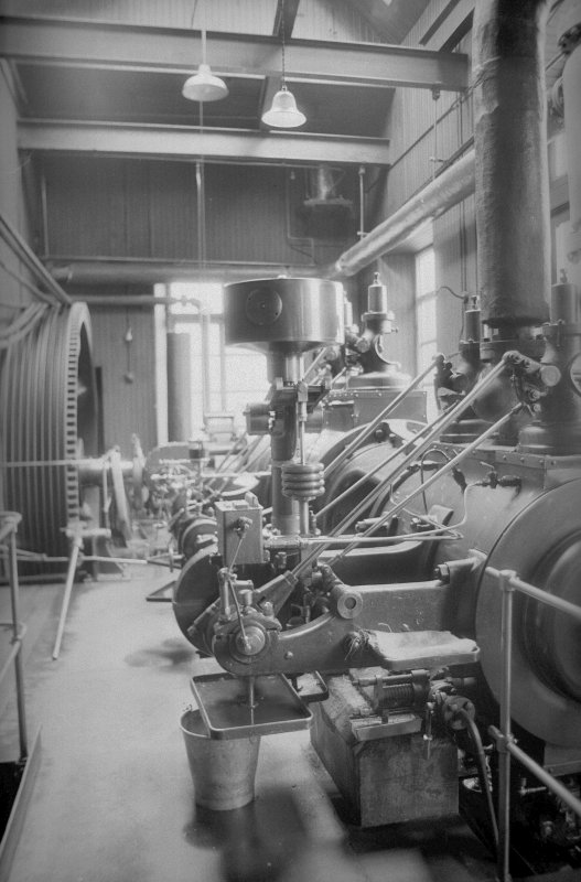 Interior View showing valve rods of Douglas and Grant Tandem Compound Engine