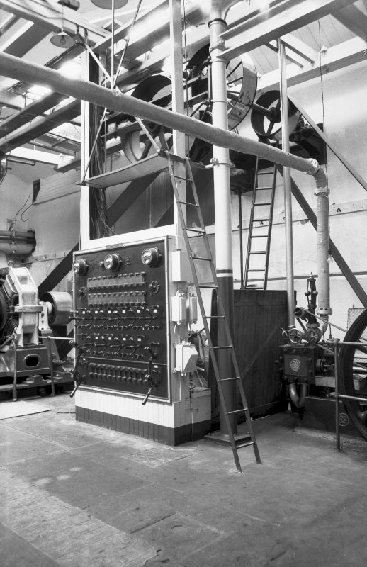 Interior View showing countershaft and switchboard