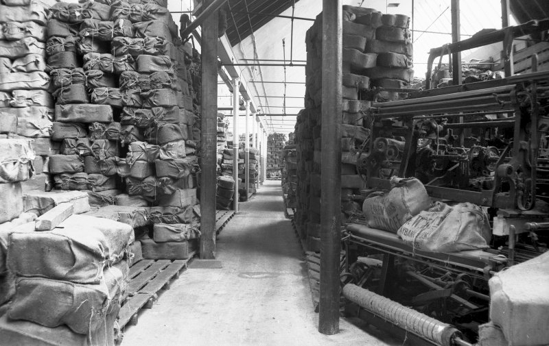 Interior View showing jute store