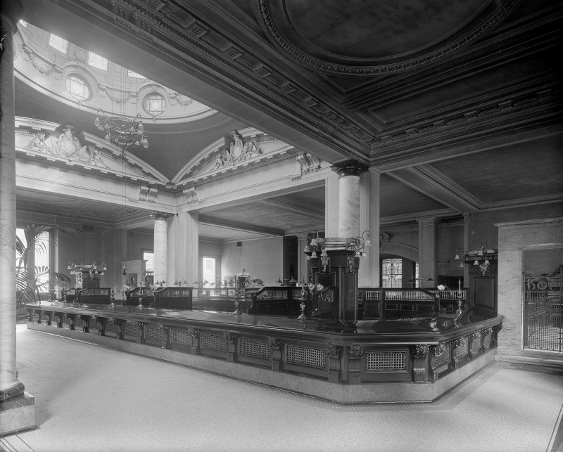 Interior -view of banking hall